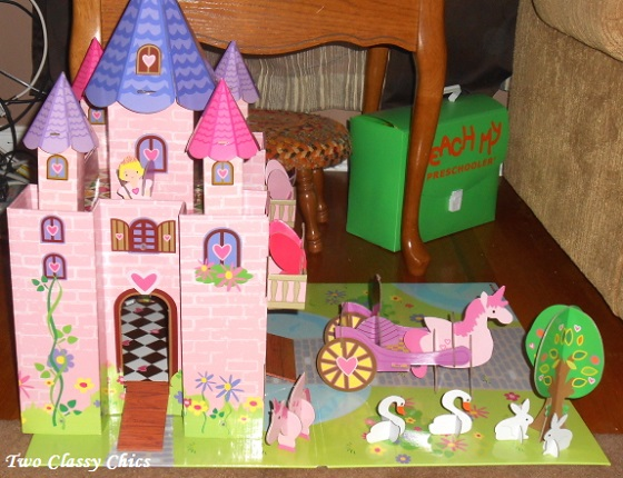 princess castle play set 2