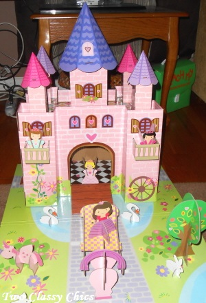 princess castle play set 3