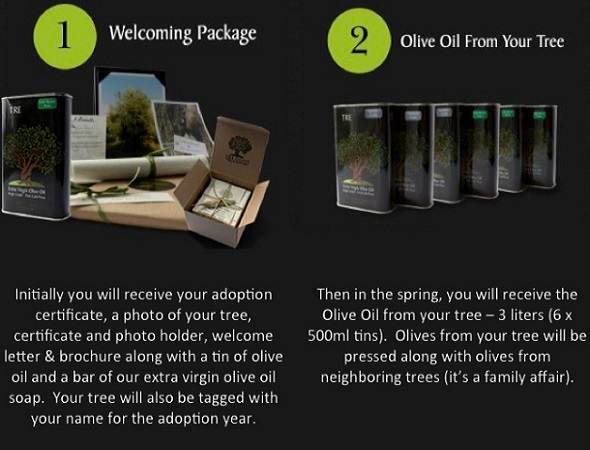 tre olive adoption package