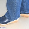 blue superior clogs