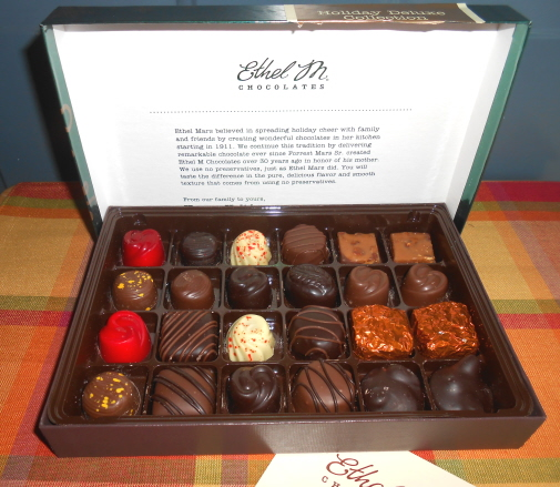 ethel m chocolates holiday collection