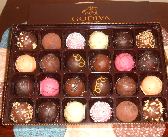 godiva holiday chocolates