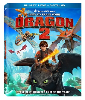 How to Train Your Dragon 2 Movie DVD