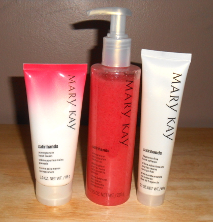 mary kay pomegranate satin hands