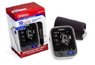 omron blood pressure monitor 10 series