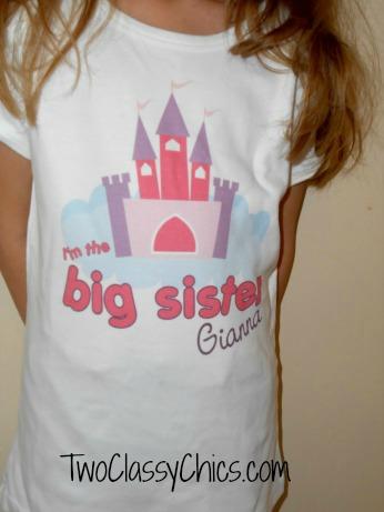 I Big Sister Tshirt