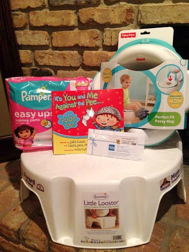 Pampers Easy Ups prize pack