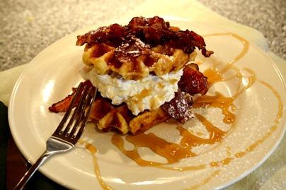 Schmacon Waffles Recipe