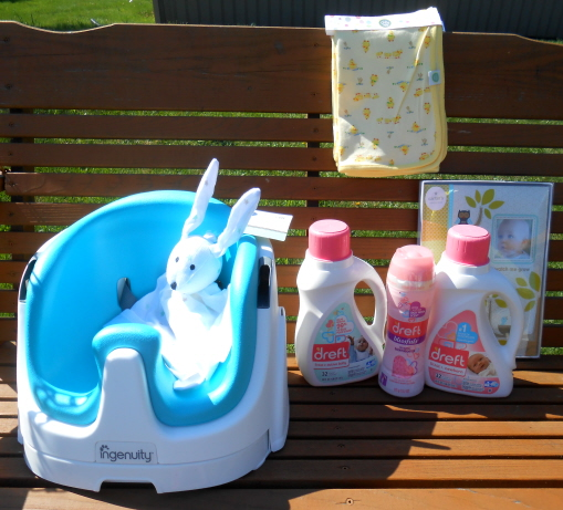 dreft baby goods prize pack