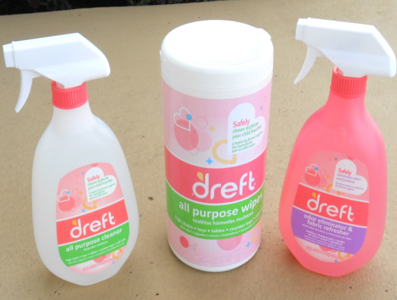dreft home cleaning products