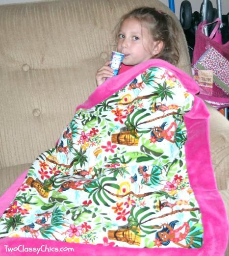 Dean Miller Hula Girl Blanket
