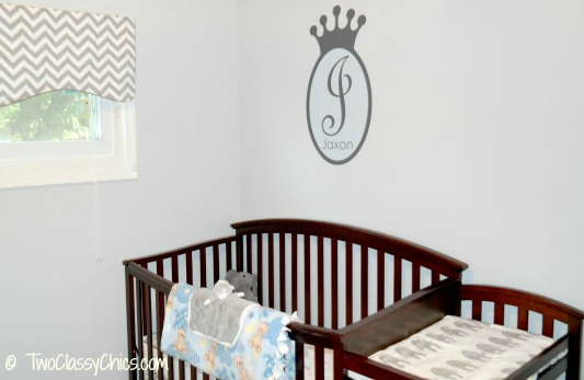 Vinyl Wall Decal in Baby's Nursery