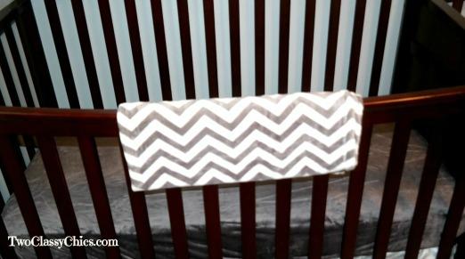 Grey Chevron Babys Blanket