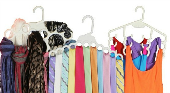 Get Your Closet Organized with Accessory Hangers