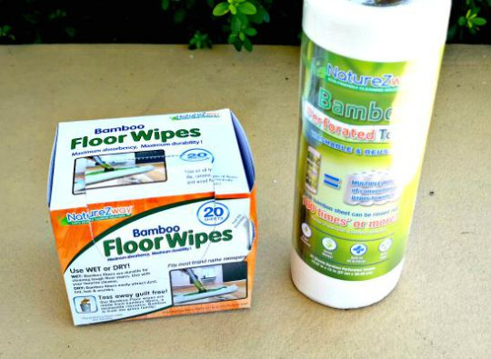 Bamboo Floor Wipes and Towels