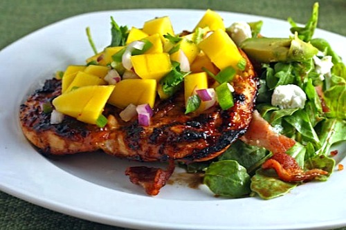 Mango BBQ Marinade for Chicken Recipe