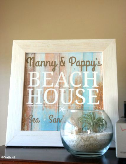 Personalized Beach House Plaque