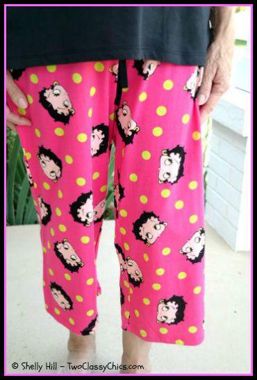Betty Boop Pajama Bottoms