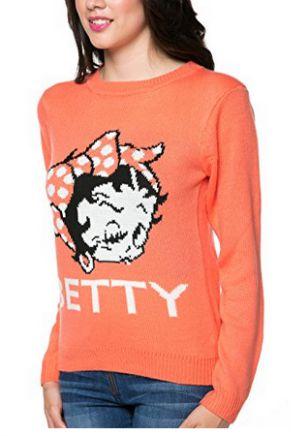 Betty Boop Sweater