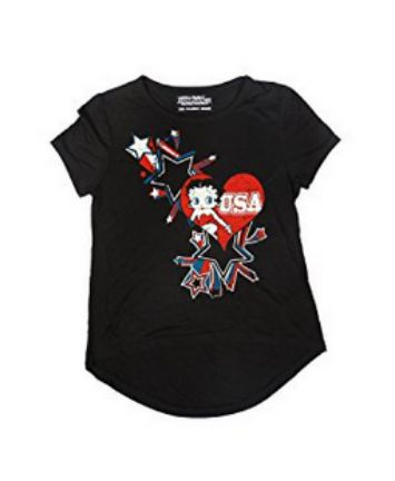 Betty Boop Young Girls Tee