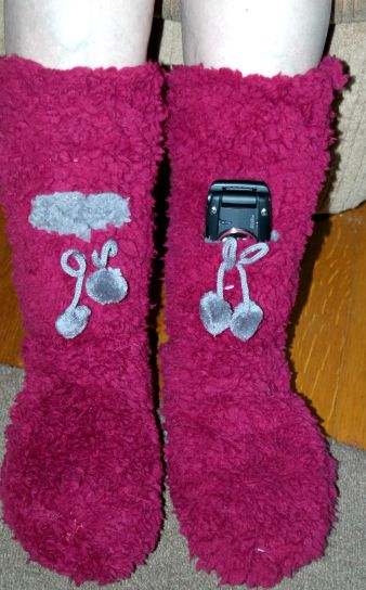 Minx NY Lavender Infused Slipper Socks