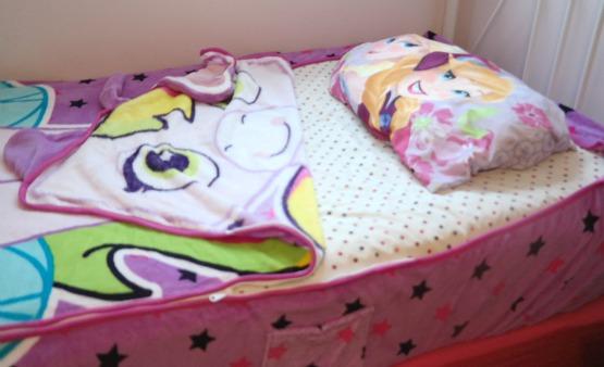 Unicorn ZippySack for Kid's Beds