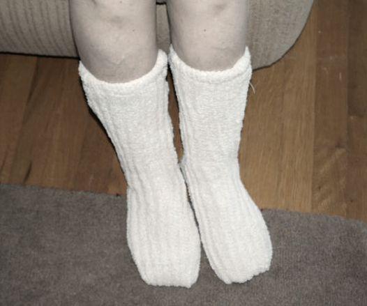 Minx NY Lavender Infused Slipper Socks