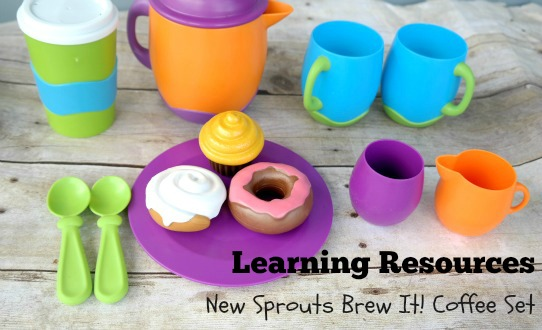 Learning Resources Pretend Play Coffee Shop Set