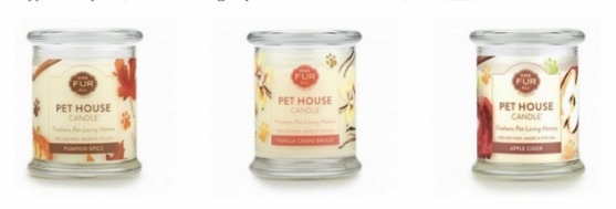 One Fur All Pet House Candle