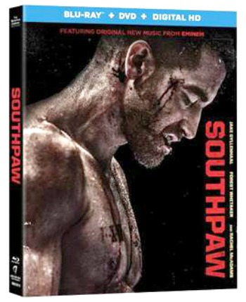 Southpaw Movie DVD