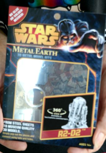 Star Wars Metal Model Kit