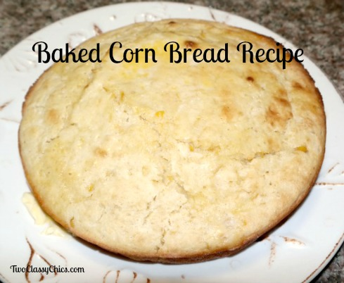 Baked Corn Bread Recipe