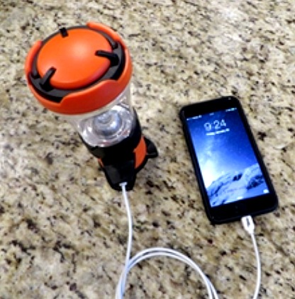 USB LED Speaker Lantern by Dorcy