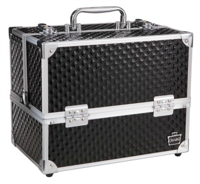 Lovestruck Black Diamond Train Case