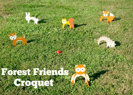 Magic Cabin - Animal Croquet