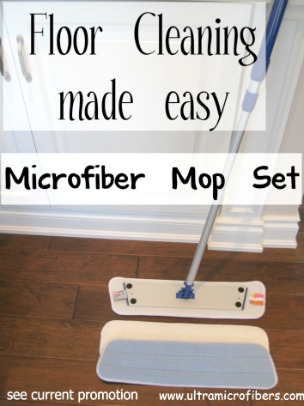 Microfiber Cleaning Mop System