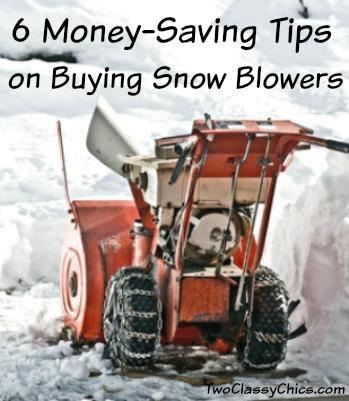 6 Money-Saving Tips on Buying Snow Blowers