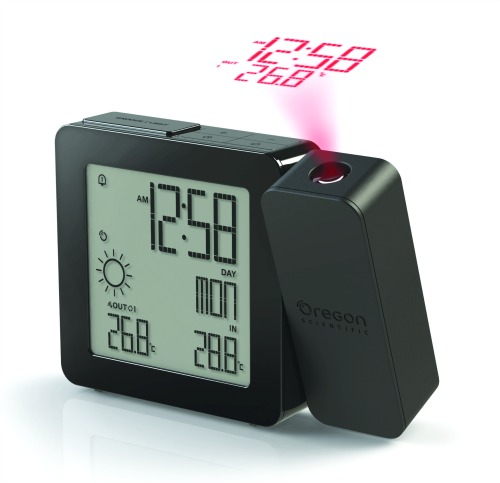 Proji Projection Clock in Black