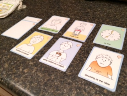 Table Manner Cards from Golly Gee-pers