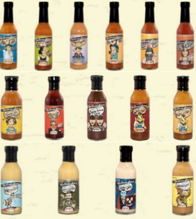 Torchbearer Sauces Product Line