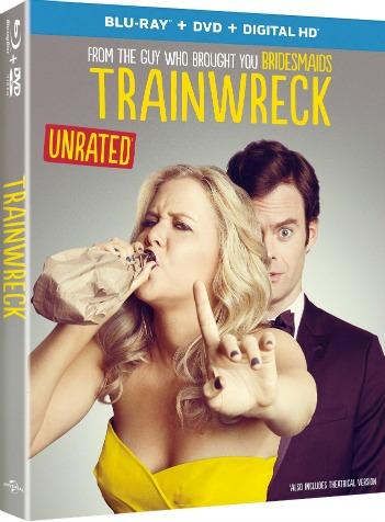 Trainwreck Movie DVD