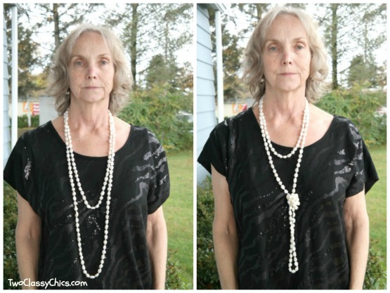Vincent Peach Freshwater Pearl Necklace