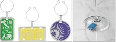 Wine Glass Charms for Travelers