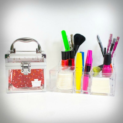 ohlala clear cosmetic case