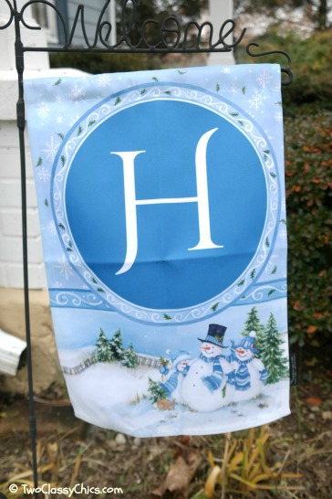 Customized Holiday Garden Flags