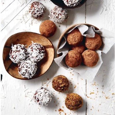 Coconut Cacao Truffles Recipe