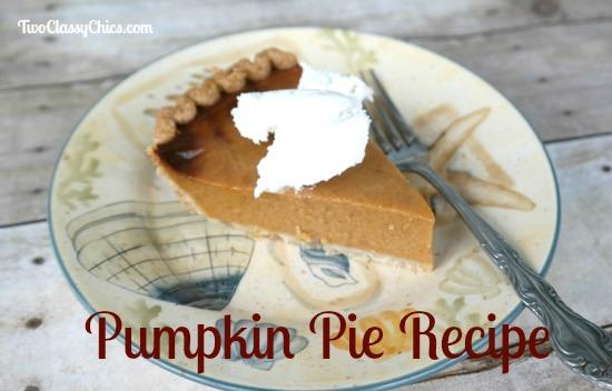 Country Crock Pumpkin Pie