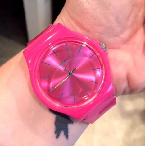 Dakota Watch Pink