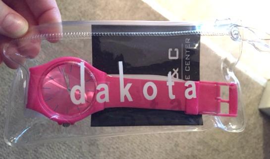 Dakota Watch in Pink