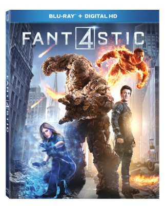 Fantastic 4 Movie DVD